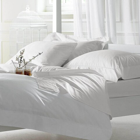 1000 Thread Count Egyptian Cotton Sheet Set King White