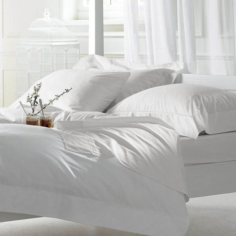 1000 Thread Count Egyptian Cotton Sheet Set Queen White