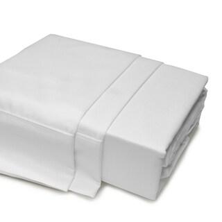 500 Thread Count Egyptian Cotton Sheet Set Queen White