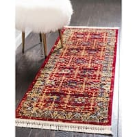Unique Loom Hoya District Runner Rug - 2' 2 x 6'