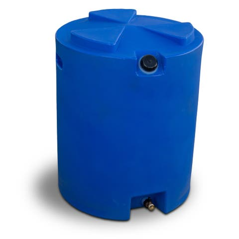 Wise Company 50 Gallon Water Storage Container - Blue - 10x10x8