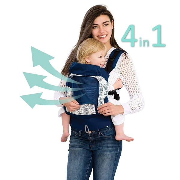 05a057c6648 Shop LILLEbaby 4 in 1 ESSENTIALS All Seasons Baby Carrier Seven Seas ...