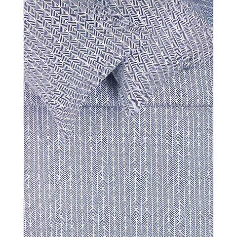 Printed Design Cotton Collection 400 Thread Count Blue Arrow Duvet Set