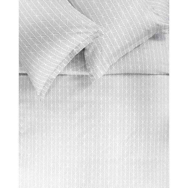 Printed Design Cotton Collection 400 Thread Count Grey Arrow Duvet Set. Opens flyout.