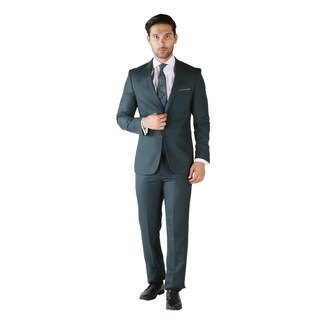 Ferrecci 3pc Slim Fit Mens Suit - Blazer Dress Pants & Vest