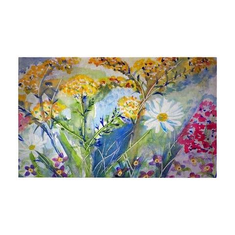 Wild Flower Door Mat 30x50