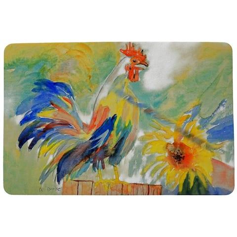 Betsy's Rooster Door Mat 18x26