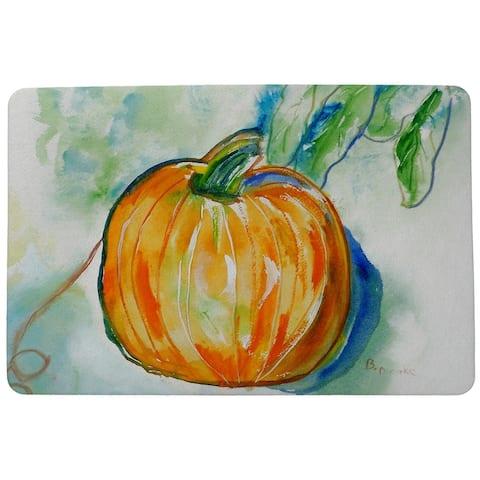 Pumpkin Door Mat 18x26