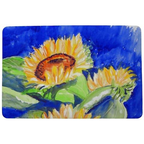 Rising Sunflower Door Mat 18x26