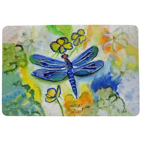 Dragonfly Garden Door Mat 18x26