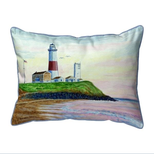 Montauk Lighthouse Large Pillow 16x20