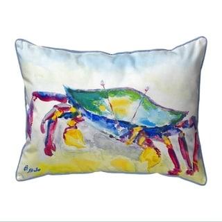 Crawling Crab Large Indoor/Outdoor Pillow 16x20