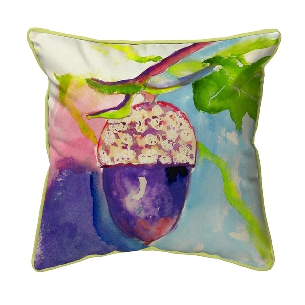Acorn Small Pillow 12x12