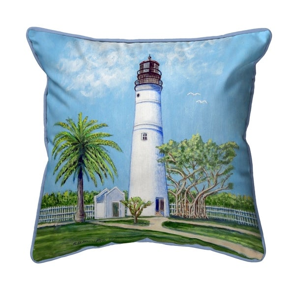Key West Lighthouse Small Pillow 12x12