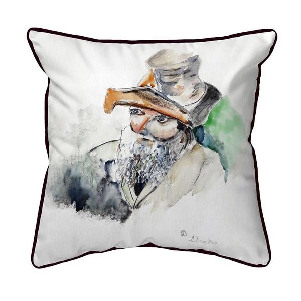 Old Salt Small Indoor/Outdoor Pillow 12x12