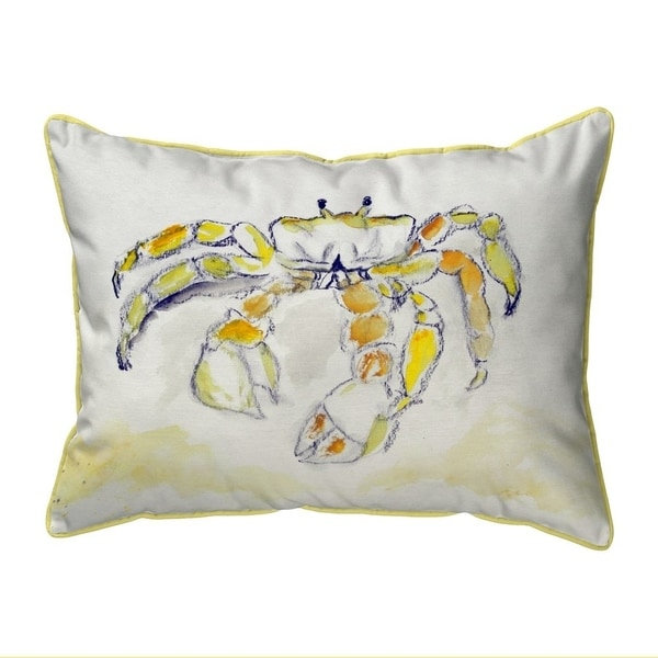 Ghost Crab Small Indoor/Outdoor Pillow 11x14