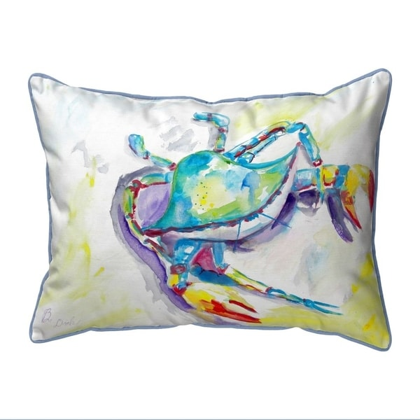 Facing the Waves Small Indoor/Outdoor Pillow 11x14