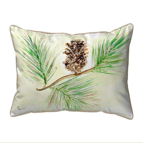 Pinecone Extra Large Zippered Pillow 20x24
