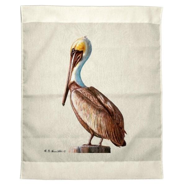 Pelican Outdoor Wall Hanging 24x30