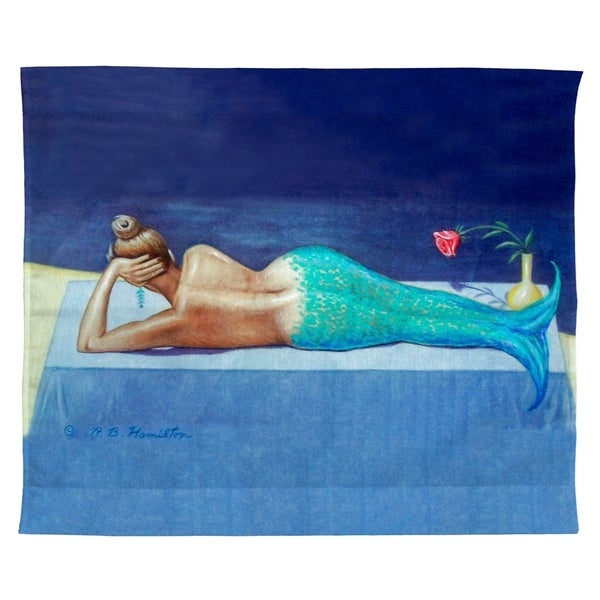 Mermaid Outdoor Wall Hanging 24x30
