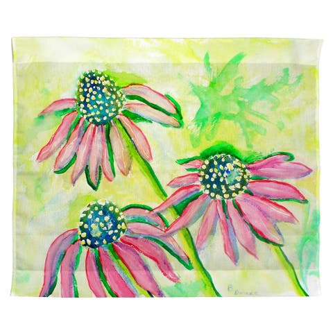 Cone Flowers Outdoor Wall Hanging 24x30
