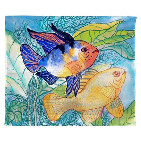 Betsy's Two Fish Outdoor Wall Hanging 24x30