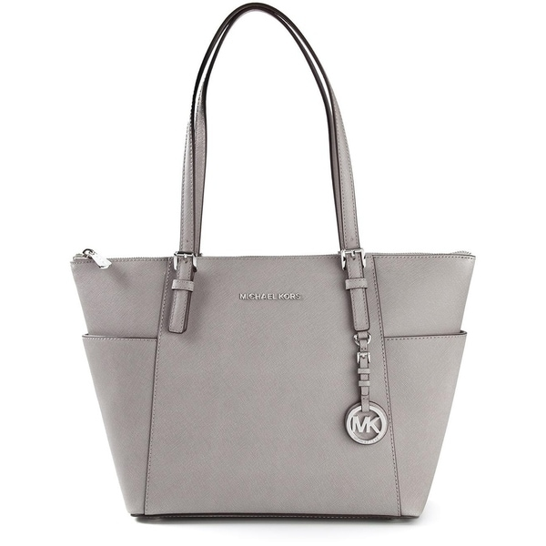 936dcce4cb80 Shop MICHAEL Michael Kors Jet Set East West Top Zip Large Tote Pearl ...