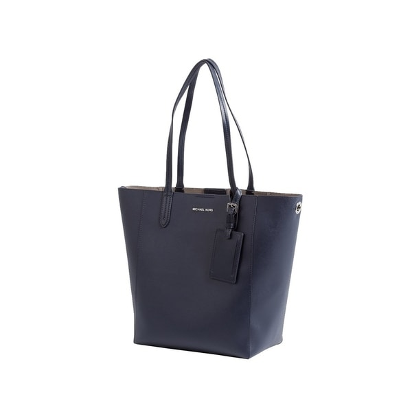 2a3ee044f562 MICHAEL Michael Kors Penny Large Saffiano Convertible Leather Tote Admiral