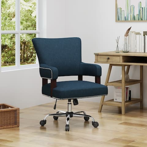 Bonaparte Traditional Home Office Chair by Christopher Knight Home