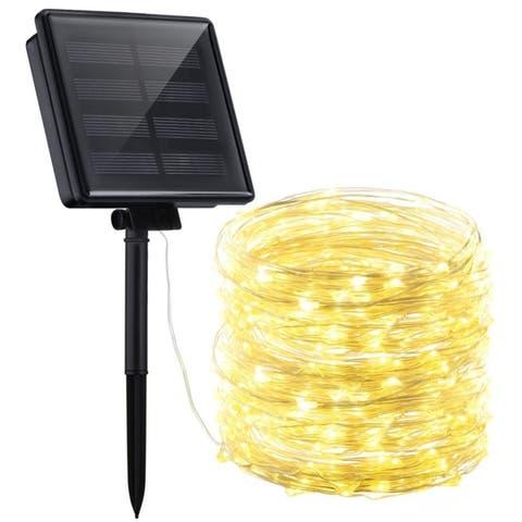 Outdoor 72-foot Waterproof 200 LED Solar String Lights