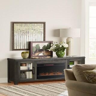 Carbon Loft Gasteyer Clove 86-inch Fireplace Console