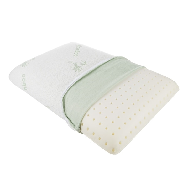 Shop Memory Foam Pillow With Soft Removable Rayon From