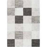 Payson Blocks Grey/Multicolor Area Rug - 5'3 x 7'6