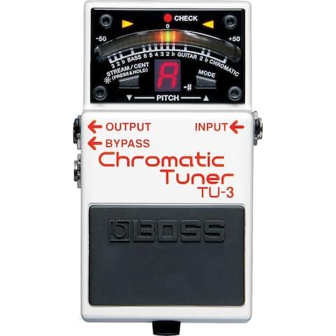 Boss TU-3 Chromatic Guitar Tuner Pedal