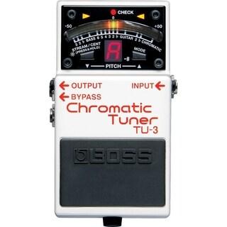 Boss TU-3 Chromatic Guitar Tuner Pedal - N/A