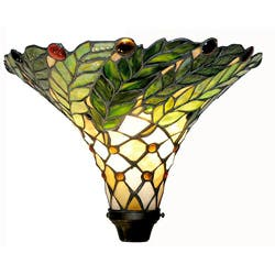 Tiffany-style Green Leaf Torchiere Lamp|https://ak1.ostkcdn.com/images/products/2288343/Tiffany-style-Green-Leaf-Torchiere-Lamp-P10538325c.jpg?impolicy=medium