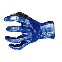 GuitarGrip Male Standard Grip, Left-Handed, Deep Blue Metallic