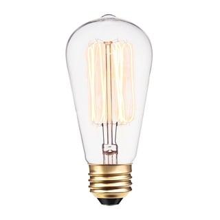 60-Watt S60 Squirrel Cage Incandescent Filament Light Bulb