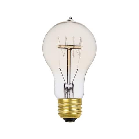 60W Vintage Edison A19 Quad Loop Incandescent Filament Light Bulb