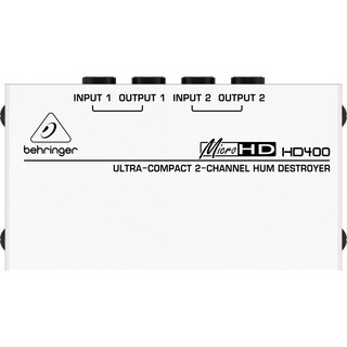 Behringer HD400 Ultra-Compact 2-Channel Hum Destroyer