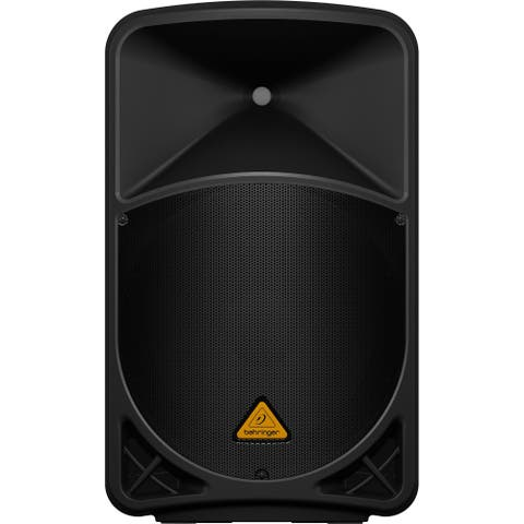 """Behringer B115MP3 Active 1000-Watt 2-Way 15"""" PA Speaker System w/MP3 Player, Wireless Option and Integrated Mixer"""