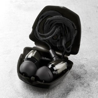 V-MODA Faders VIP Tuned Earplugs w/ Detachable Cord & Case - Gunmetal