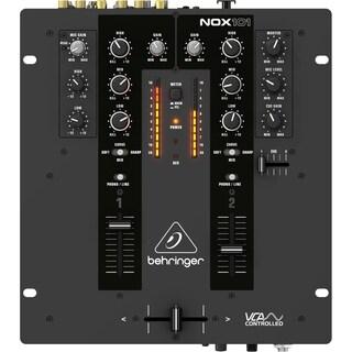 Behringer Pro Mixer NOX101 Premium 2-Channel DJ Mixer with Full VCA-Control and Ultraglide Crossfader