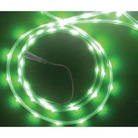 Celebrations  LED  Flex Tape  Rope Lights  Green  16-1/2 ft. 99 lights