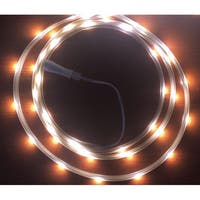 Celebrations  LED  Flex Tape  Rope Lights  Cool White  16-1/2 ft. 99 lights