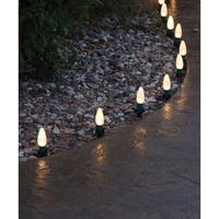 Adams  Christmas  Light Stakes  Green  PVC  100 pk