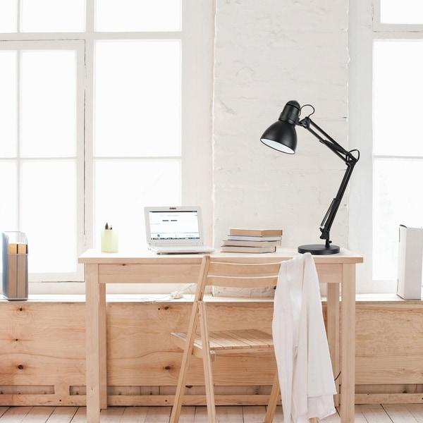 "28"" Heavy Base Architect Spring Balanced Swing Arm Desk Lamp. Opens flyout."