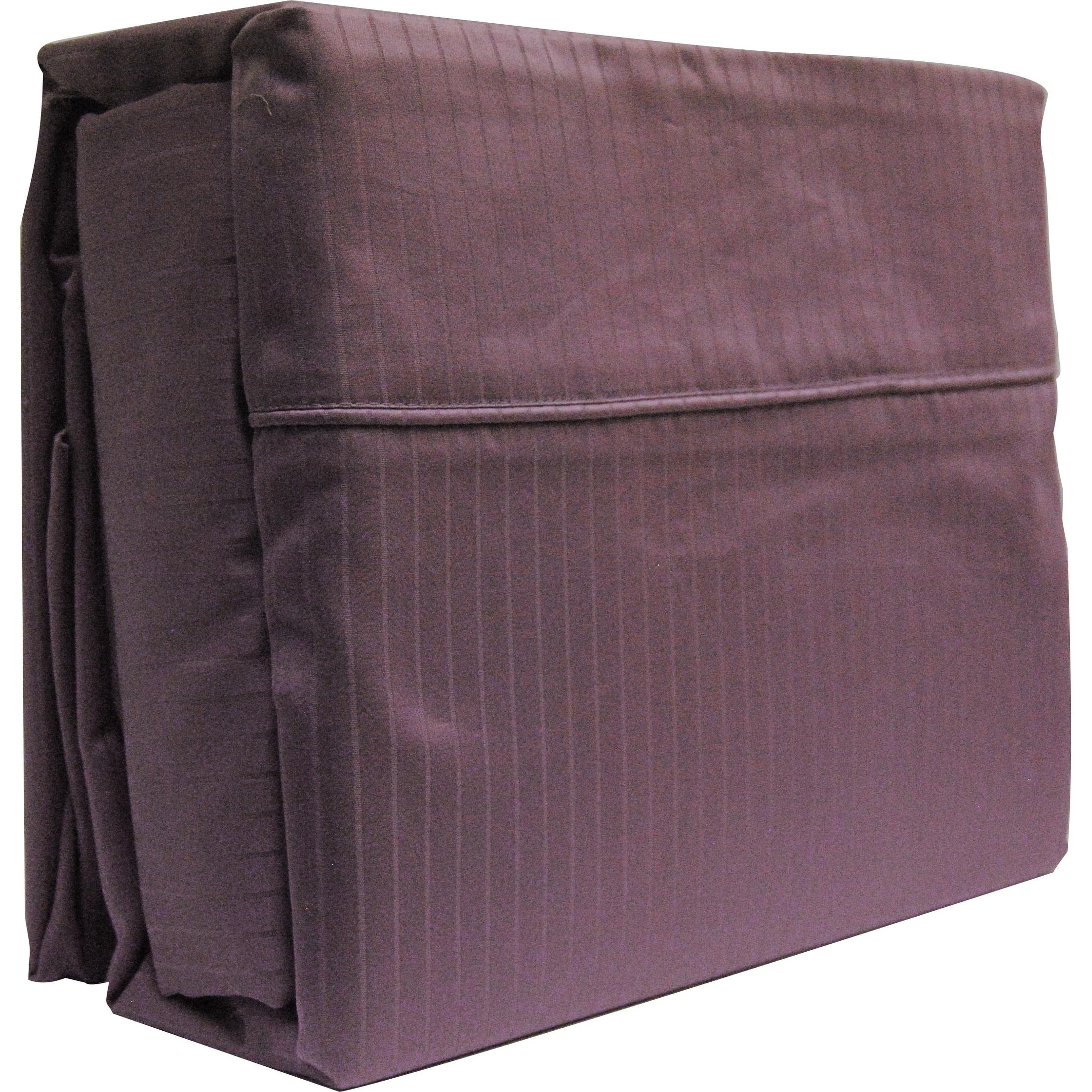 Lavender Stripe King Sheet Set 4 Piece 800 Thread Count Egyptian Cotton