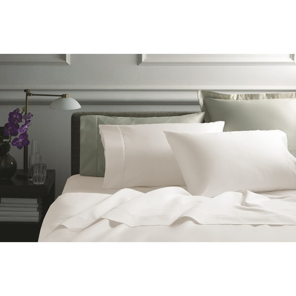 1000 Thread Count Egyptian Cotton Sheet Set Queen Ivory