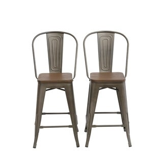 Swell Buy Set Of 2 Counter Bar Stools Online At Overstock Our Bralicious Painted Fabric Chair Ideas Braliciousco